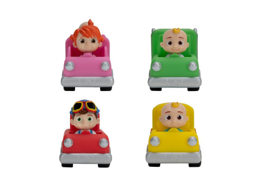 CoComelon Mini samochodziki ast.