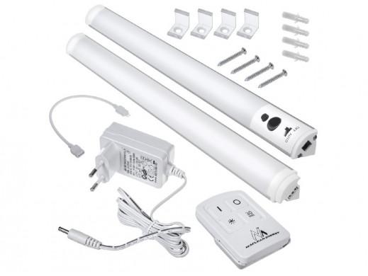 Podszafkowa lampa liniowa LED zestaw 2 moduły z pilotem i zasilaczem  Maclean Energy MCE245 - max 4 moduły na jednym zasilaczu P