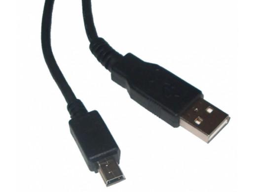Przewód, kabel USB-miniUSB 1.8m z filtrem