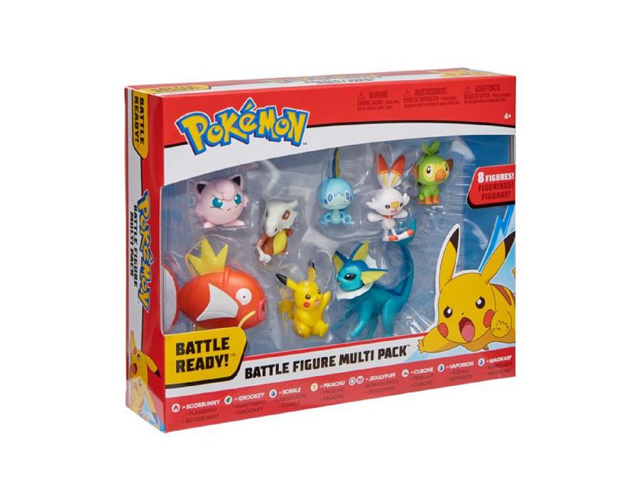 Zestaw 8 figurek Pokemon Battle Figure Pack seria 5