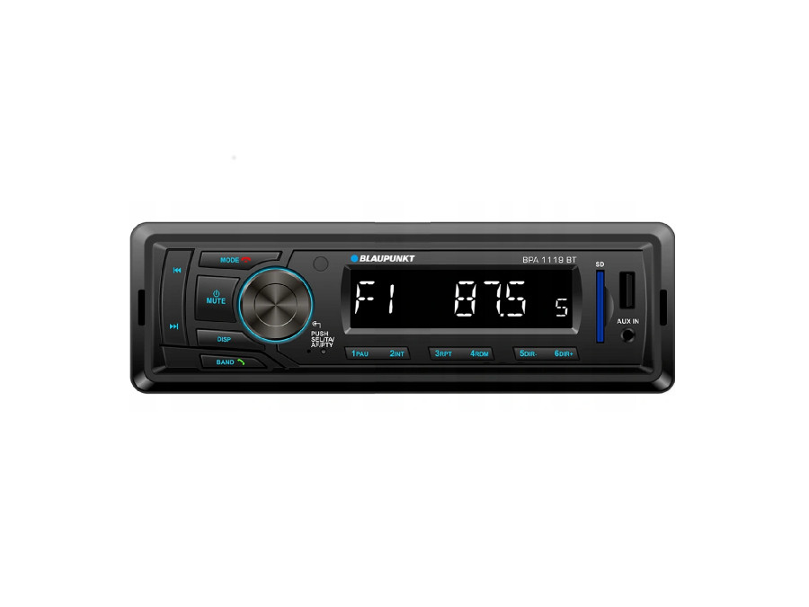 Radio samochodowe BT/MP3/USB/SD/AUX Blaupunkt BPA1119BT