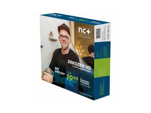 Usługa nc+ telewizja na kartę 2851 Komfort+ 6 miesięcy