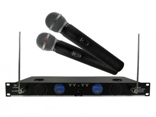 Mikrofon bezprzewodowy LS-82 dwukanałowy
