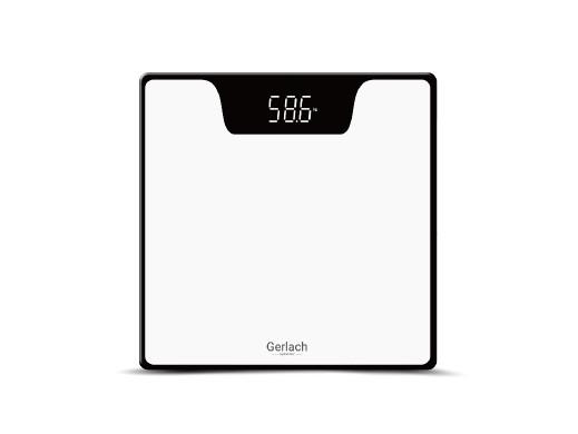Waga łazienkowa LED Gerlach GL 8167w biała