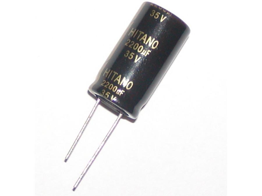 Kondensator elektrolityczny 2200uF 35V 105C