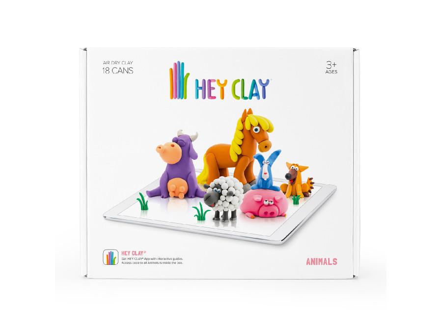 Zestaw masy plastycznej Hey Clay Zwierzęta