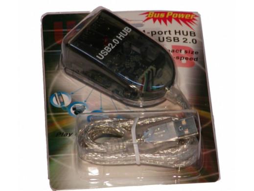 Hub USB 2.0 4 porty aktywny
