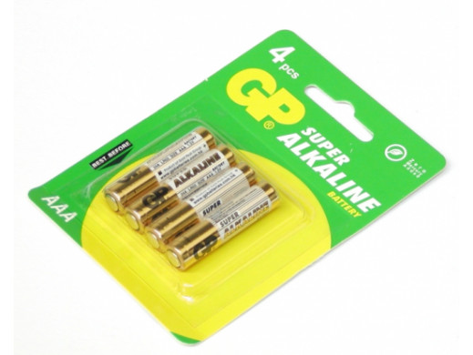 4 x baterie AAA / LR03 GP...