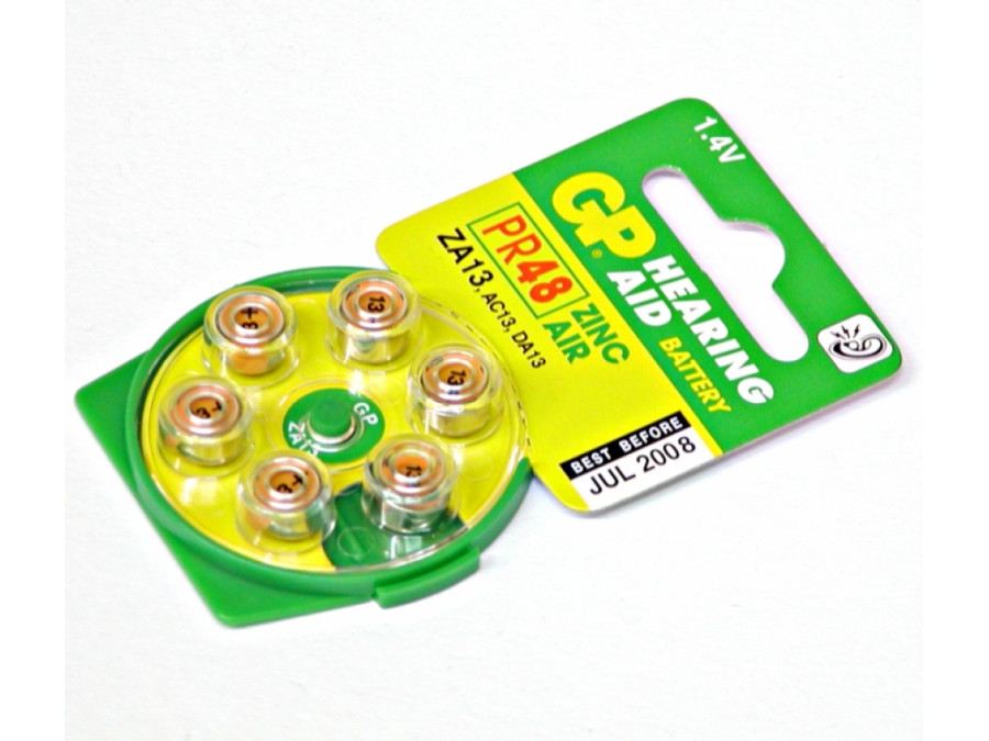 Bateria PR-13 PR48 AC13 DA13 DO APARATU SŁUCH GP