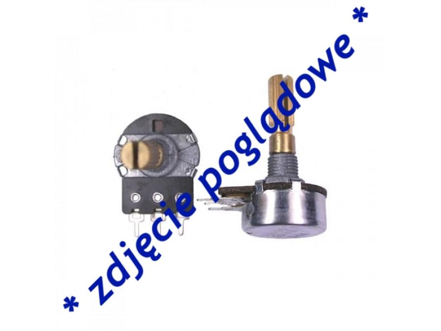Potencjometr ośka długa 1*470R-A liniowy