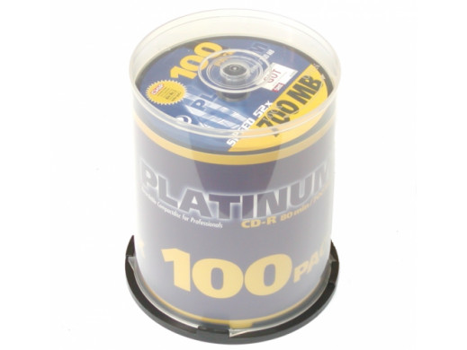 Płyta CD-R PLATINUM 700MB 80min