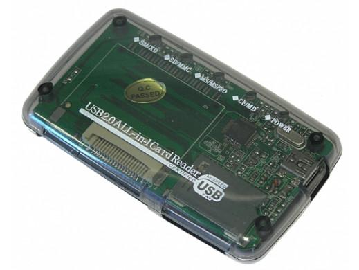 Czytnik kart pamięci All in One USB 2.0