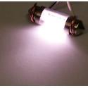 Dioda LED samochodowa FT11X36-6W biała wewnętrzna