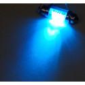 Dioda LED samochodowa FT11X36-6B niebieska wewnętrzna