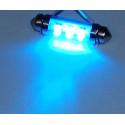 Dioda LED samochodowa FT10X42-6B niebieska wewnętrzna