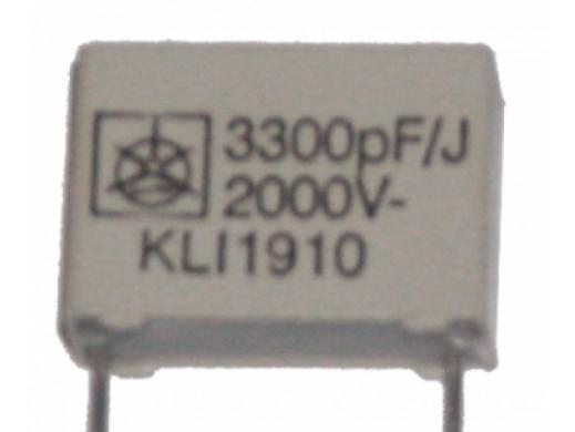 Kondensator MKT 3,3NF 2000V