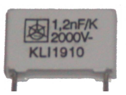 Kondensator MKT 1,2nF 2000V