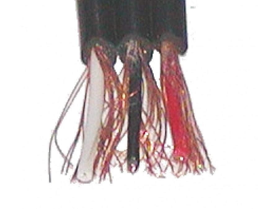Kabel 3*3cinch płaski ekranowany