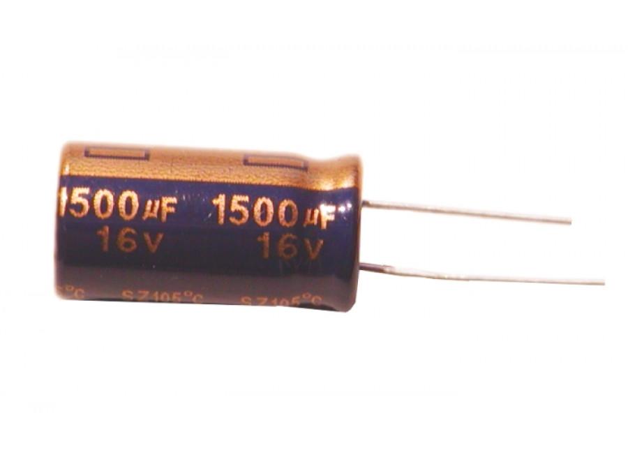 Kondensator elektrolityczny 1500uF/16V 105C