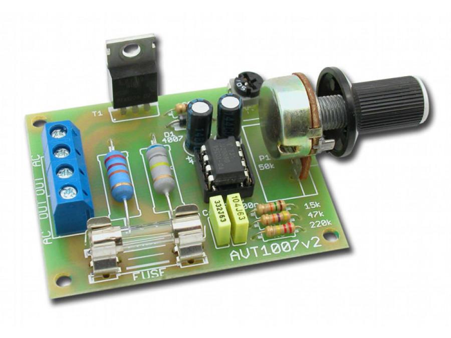 AVT-1007B Regulator obrotów silnika elektrycznego