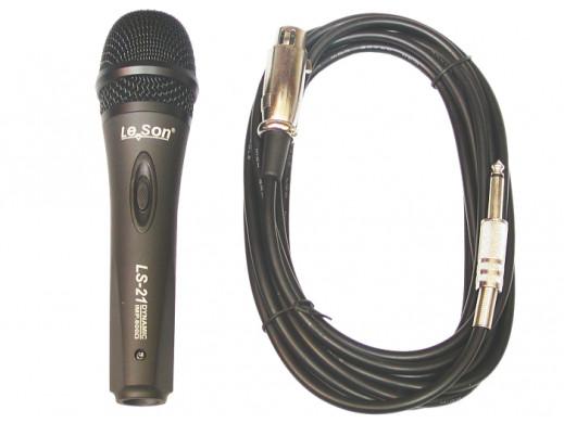 Mikrofon dynamiczny LS-21...