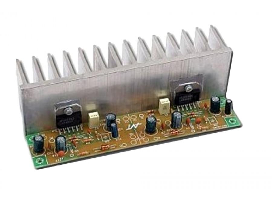 AVT-2180B wzmacniacz mocy na układzie LM3886 KIT