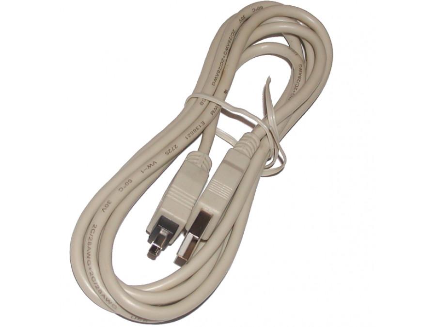 Przewód IEEE 4 PIN WTYK USB A 1,8M