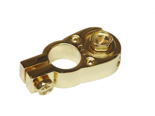 Klema złota + 2 podłączenia