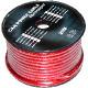 Kabel samochodowy 6GA OD7.8mm CU czerwony