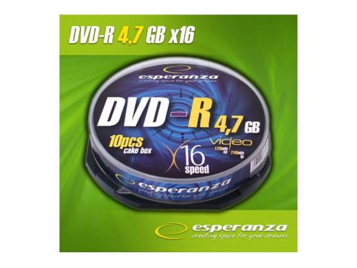 Płyta DVD-R 4,7gb Esperanza bez opakowania