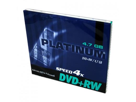 Płyta DVD+RW PLATINUM 4.7GB w opakowaniu