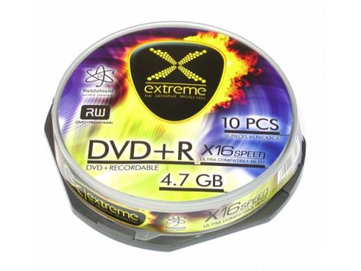 Płyta DVD+R 4,7GB EXTREME 16x bez opakowania