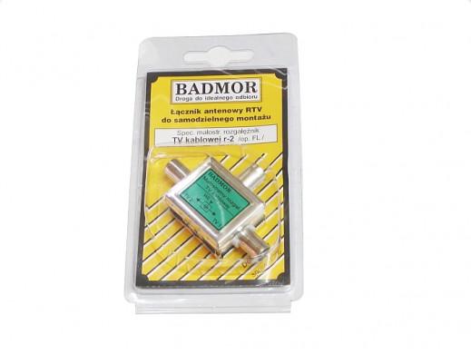 Rozgałęźnik BADMOR R-2 1/2 wewnętrzny kablowy zielony