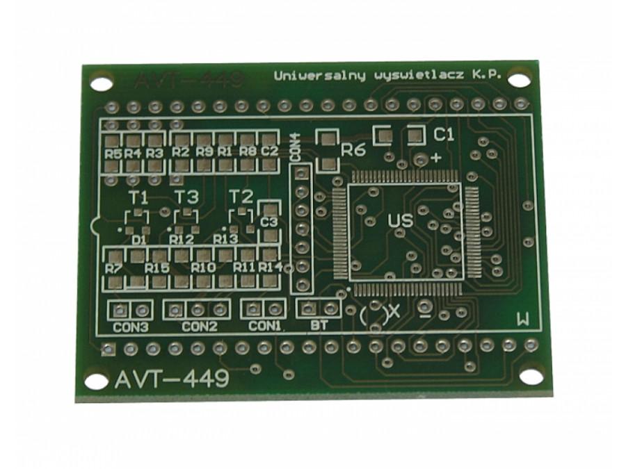 AVT-449A MODUŁ POMIAROWY Z MSP430