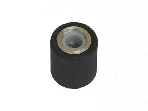 Zespół rolki magnetofonowej dociskowej średnica 13,5mm wysokość 7mm typu jamnik