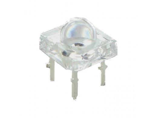 Dioda LED 5mm FLUX BIAŁA 4 pin