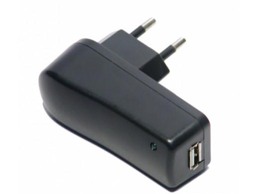 Zasilacz sieciowy USB 5C 1000mA uniwersalny