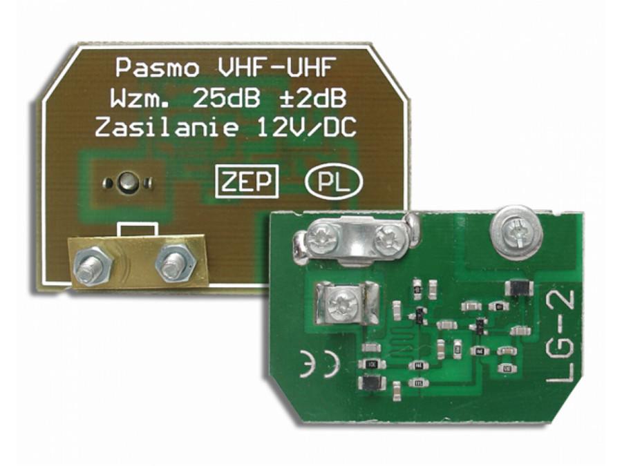 Wzmacniacz antenowy LG-2 PŁYTKA