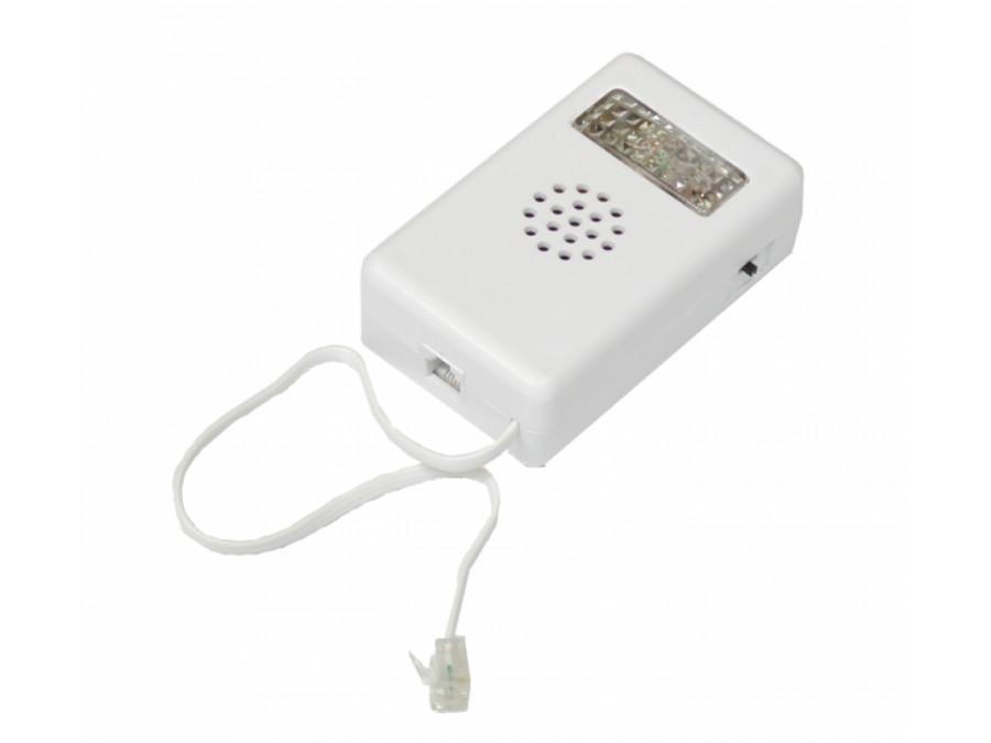 Sygnalizator telefoniczny czerwony
