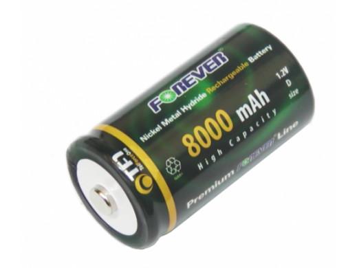 Akumulator R-20 8000mAh Ni-Mh FOREVER