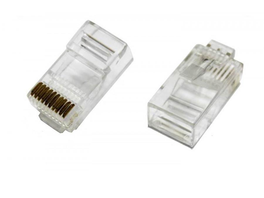 Wtyk telefoniczny 10P10C drut RJ50