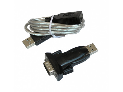 Adapter USB-RS232 (DB9M)