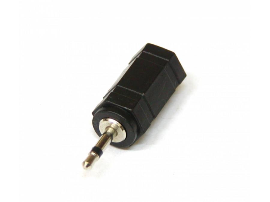 PRZEJŚCIE WTYK 2,5mm JACK MONO/GN 3,5mm