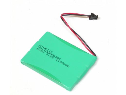 Akumulator 3,6V 1100mAh Z PRZEWODAMI MH1100P3BC