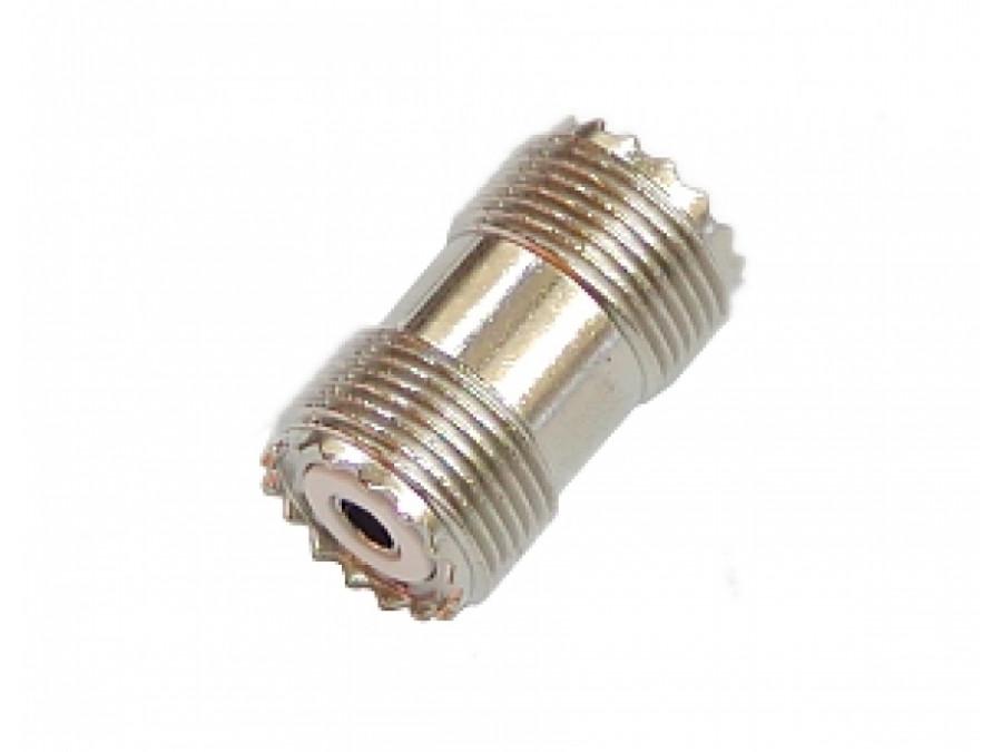 Łącznik CB gniazdo-gniazdo antenowe beczka PL258