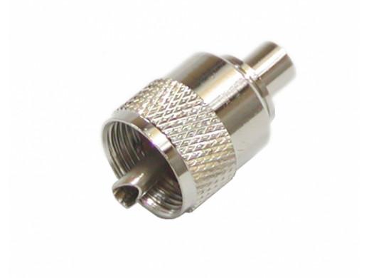 Wtyk CB UHF/UC1 nakręcany na kabel RG58
