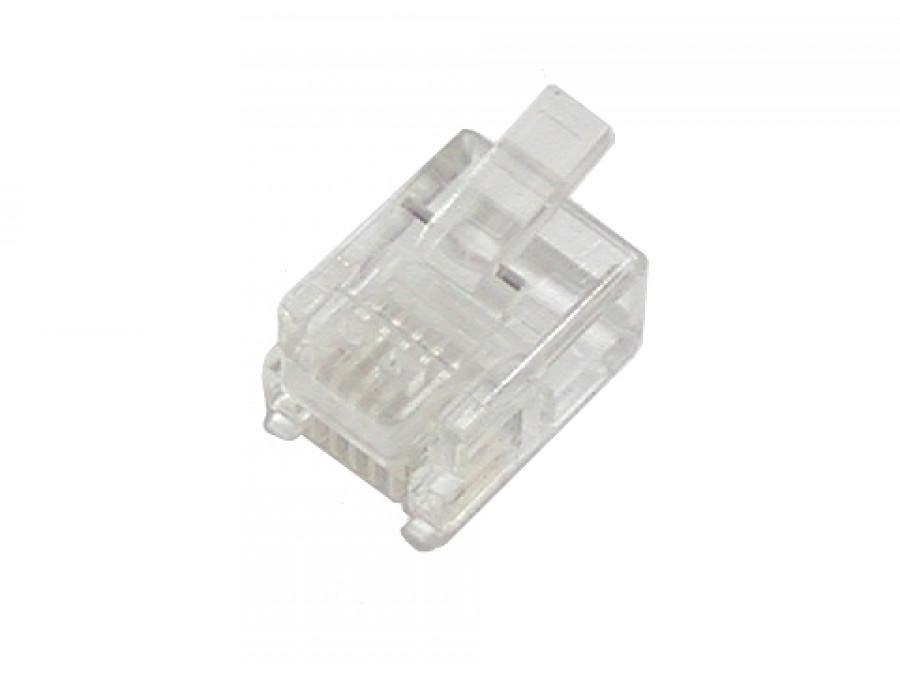 Wtyk telefoniczny 6 PIN 6P6C - RJ12