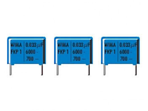 WIMA 680pF 2000V 15mm