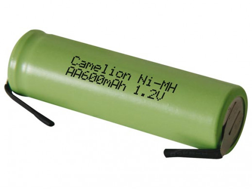 Ni-MH CELL 1.2V-600mAh WITH...