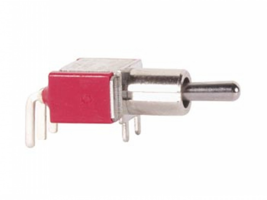90° HORIZONTAL TOGGLE SWITCH SPDT ON-ON